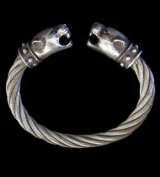 Panther Cable Wire Bangle