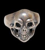 Old Single Skull Ring