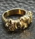 画像3: Gold Small 4Heart Crown Ring