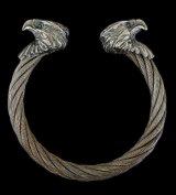 Eagle Cable Wire Bangle