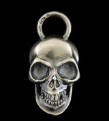 Giant Skull With Loop Pendant