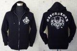 Triple skull Hooded Jacket
