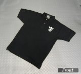 Gaboratory G&Crown Polo Shirt(Black)