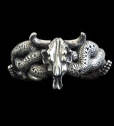 Large Buffalo Skull & Large Snake Bracelet