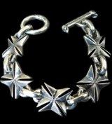 All Maltese Cross Links Bracelet