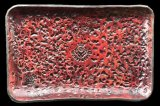 Gaboratory Textured Leather Gun Tray  [Red]