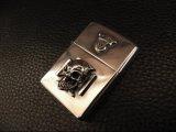 G Crown & Iron Cross Skull On Lighter