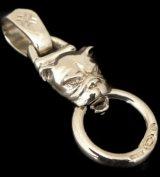 Bulldog Pendant (Platinum Finish)