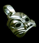 Mask Pendant (Maltese Cross Stamp)