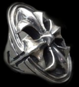 Cross Oval Ring