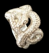 Snake Ring (Platinum Finish)