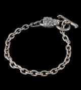 Quarter Lion Quarter Chain Bracelet