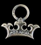Large Crown Pendant With Loop