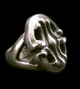 Classic Sculpted Oval Ring