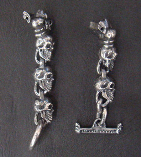 画像4: Skull With Crown Watch Bands