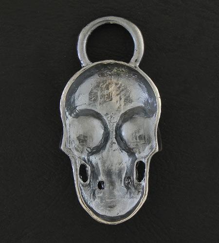 画像2: Giant Skull With Loop Pendant