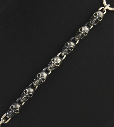 画像2: All Skulls Link Bracelet