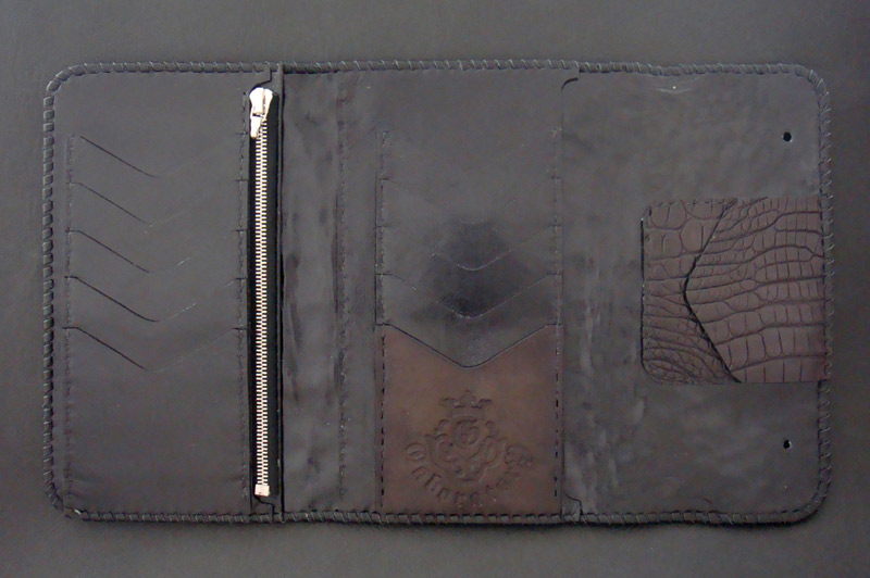 画像4: Crocodile Horn Back Long Wallet