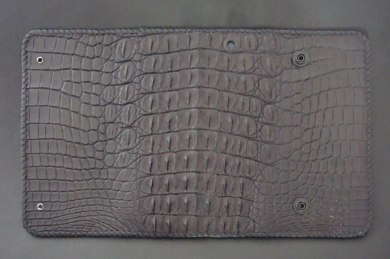 画像3: Crocodile Horn Back Long Wallet