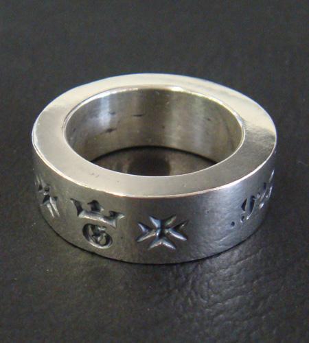 画像3: Narrow G&Crown Gothic Cigar Band Ring