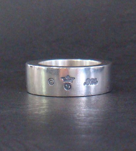画像5: Narrow G&Crown Gothic Cigar Band Ring