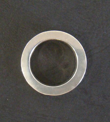 画像4: Narrow G&Crown Gothic Cigar Band Ring
