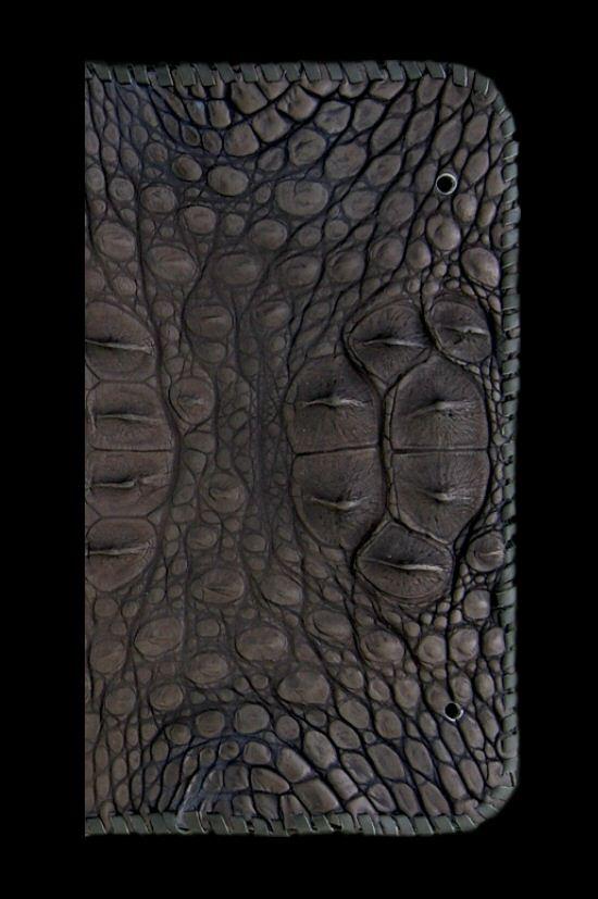 画像2: Crocodile Head&HornBack Long Wallet