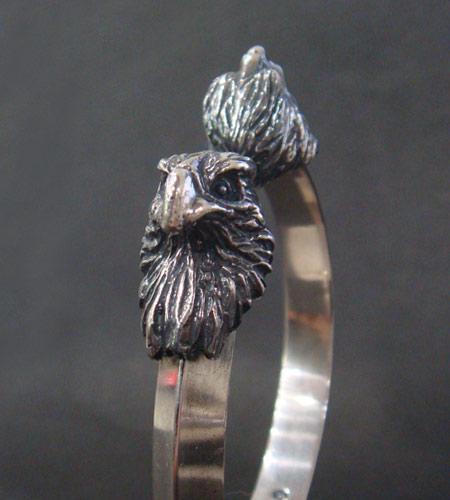 画像3: Eagle Triangle Wire Bangle