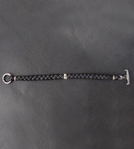 画像4: Half H.W.O braid leather bracelet