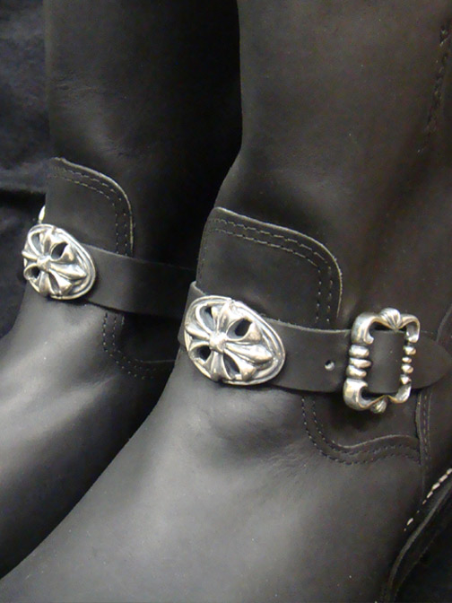 画像3: Long Boots with Cross Oval