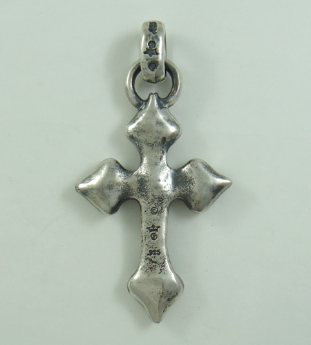 画像4: Quarter 4 Heart Chiseled Cross With H.W.O Pendant