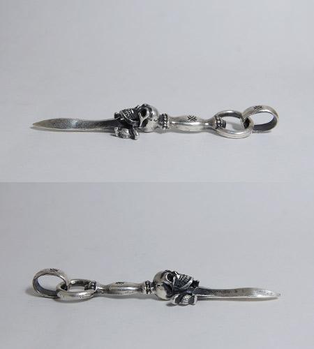 画像5: Half Dagger With Skull Pendant With H.W.O