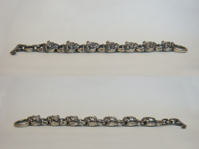 画像5: All Bulldog Links Bracelet