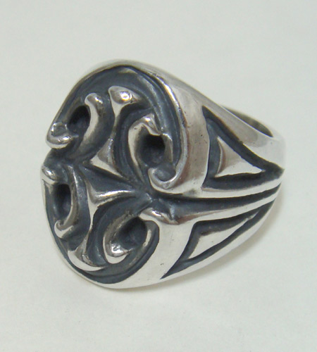 画像2: Sculpted Oval Signet Ring