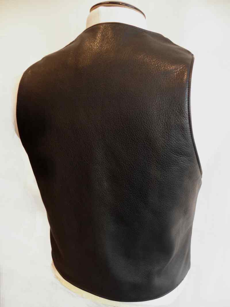 画像1: Gaboratory Tailored Leather Vest