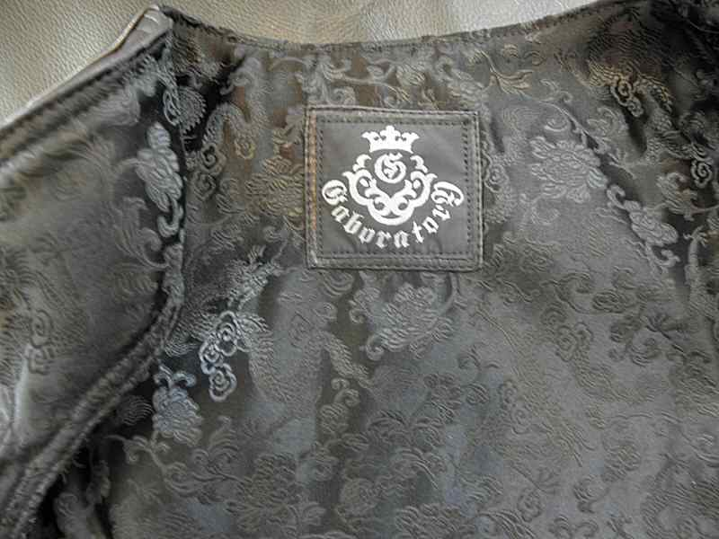 画像5: Gaboratory Tailored Leather Vest (Tribal art work)