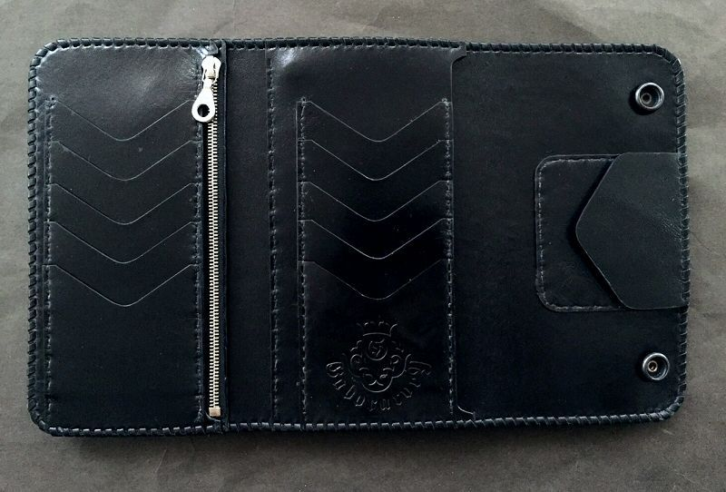 画像2: Water Buffalo Plain Long Wallet