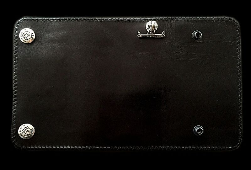 画像1: Water Buffalo Plain Long Wallet