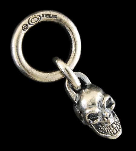 画像1: Single Skull With O-ring