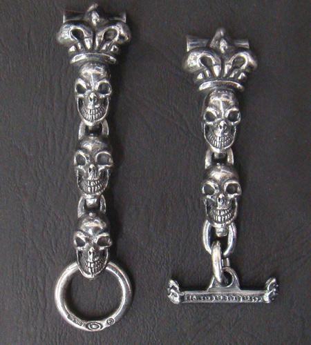 画像2: Skull With Crown Watch Bands