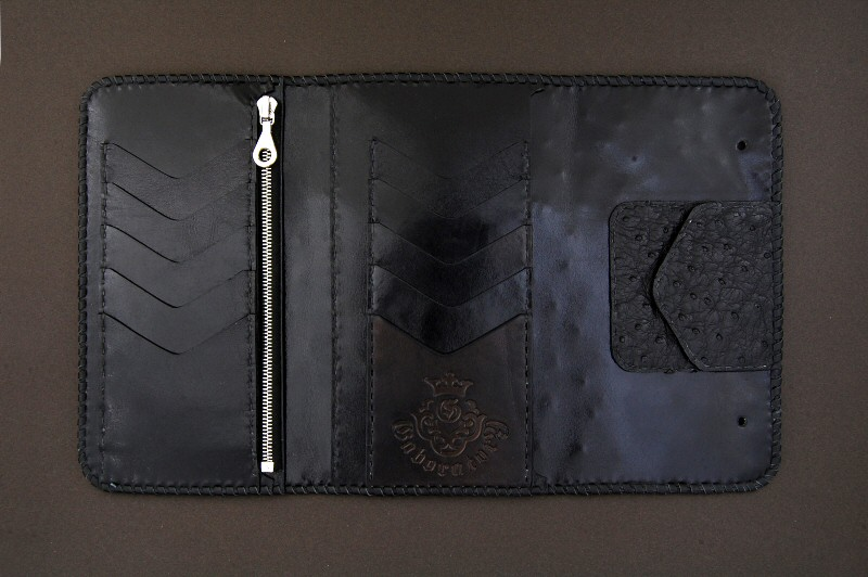 画像3: Frog G&Crown Inlay Ostrich Long Wallet