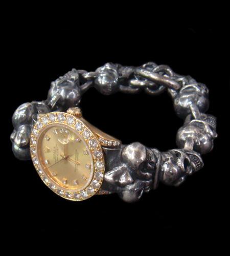 画像1: Skull With Crown Watch Bands