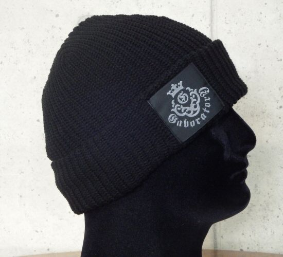 画像3: Atelier mark watch cap (Black)