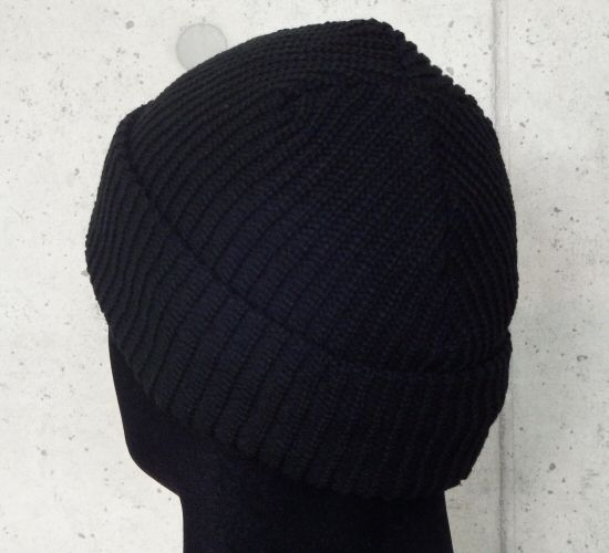 画像4: Atelier mark watch cap (Black)