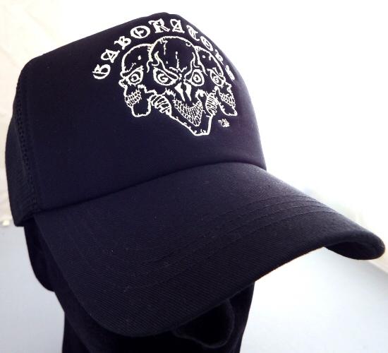 画像3: Triple Skull Mesh Cap (Snap-back)