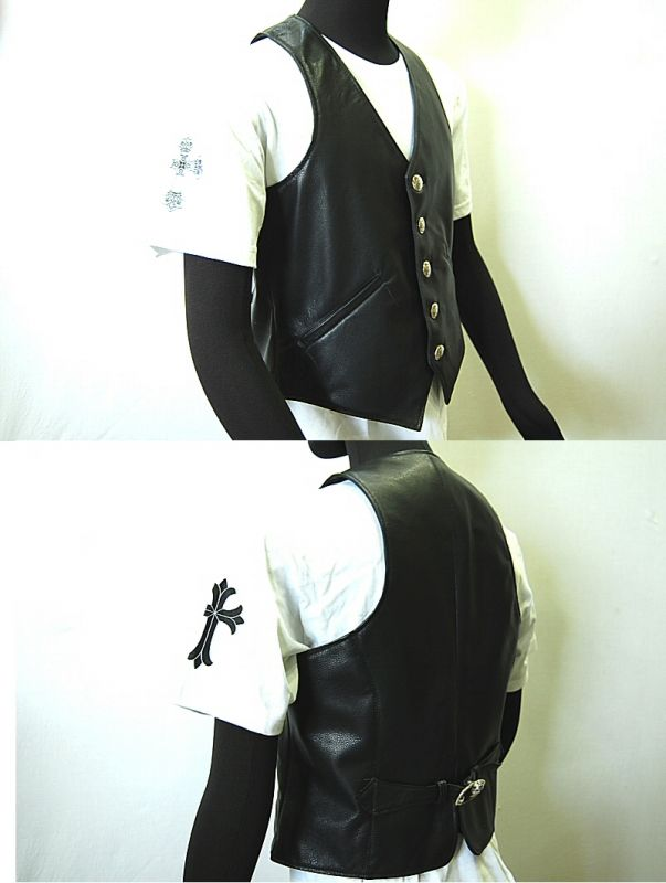 画像4: Gaboratory Leather Vest