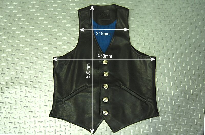 画像5: Gaboratory Leather Vest