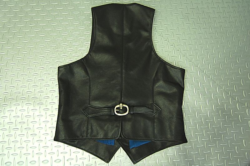 画像3: Gaboratory Leather Vest