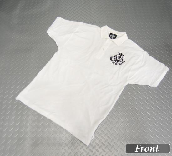 画像1: Gaboratory Atelier Mark Polo Shirt(White)