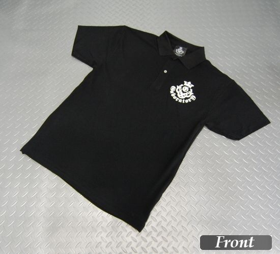 画像1: Gaboratory Atelier Mark Polo Shirt(Black)